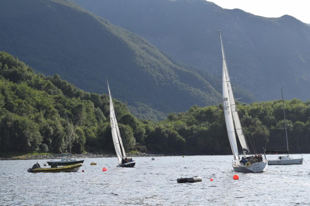 Sailing in the Shadow of Glencoe